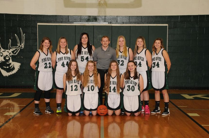 Girls Basketball Junior Varsity Team Picture