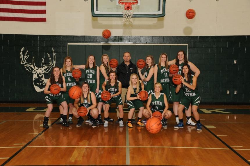 Girls Basketball Varsity Team Picture