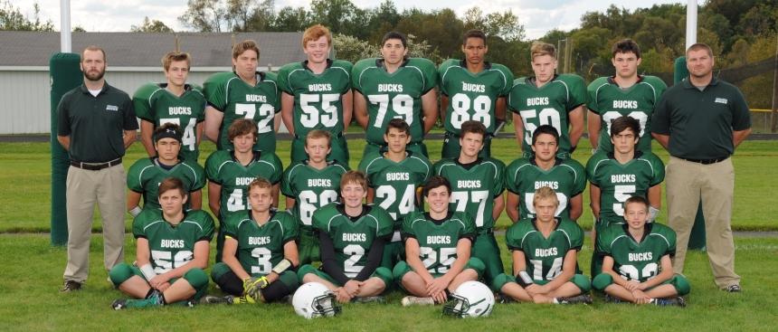 Football Junior Varsity Team Picture