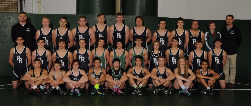2016-2017Wrestling Team Picture