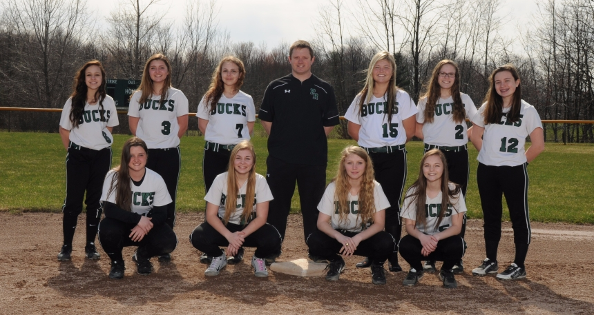 2016-2017Softball Team Picture