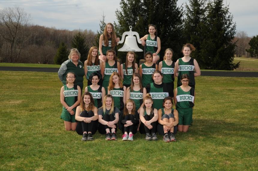 Middle School Girls Track Team