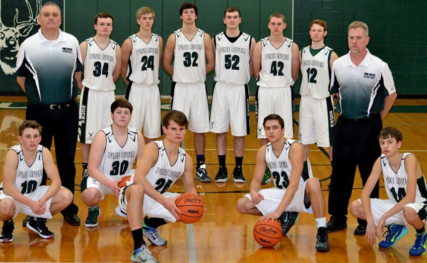 2015-2016 Boys Basketball Varsity Team Picture