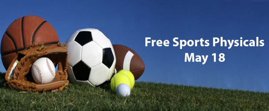 Free Sports Physicals May 18th