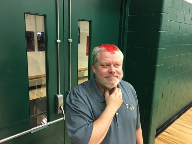 Mr. Ruppert with his new hair