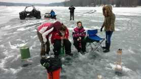 Rose Lake Outdoor Ed. fishing photo