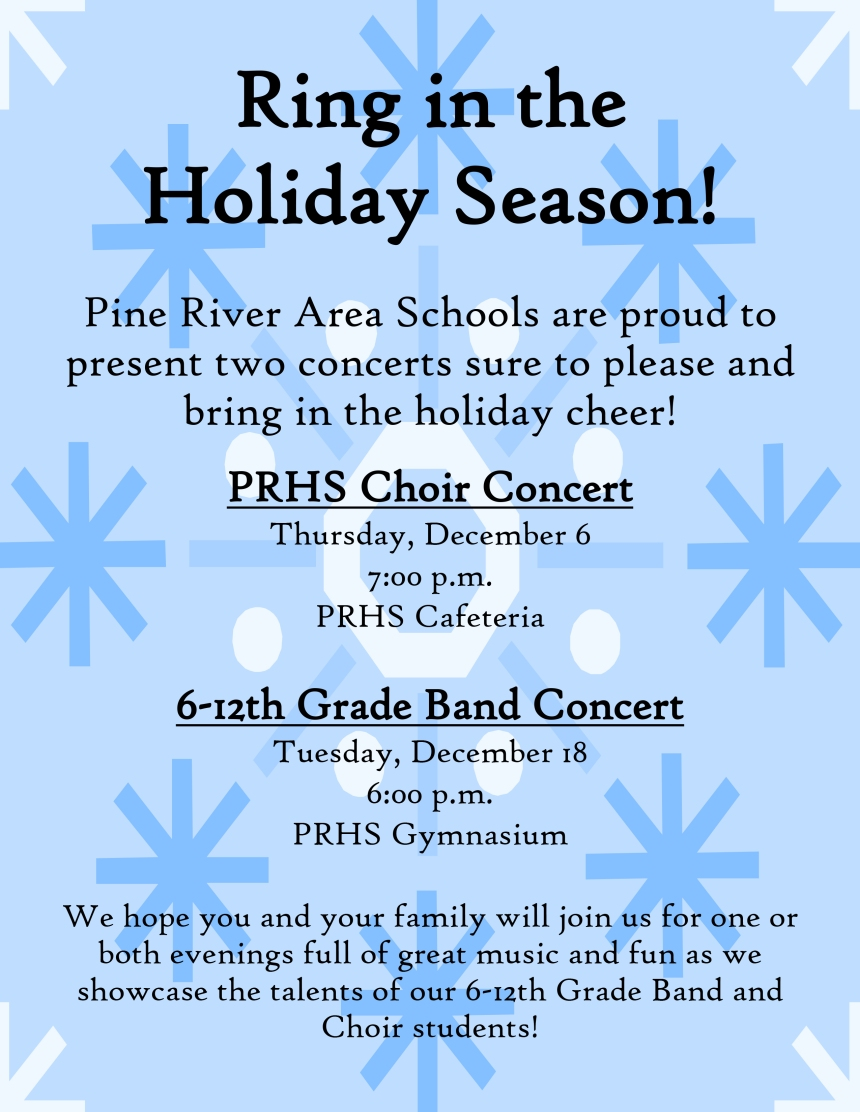 Holiday Concert Flyer 2