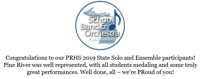 2019 State Solo and Ensemble